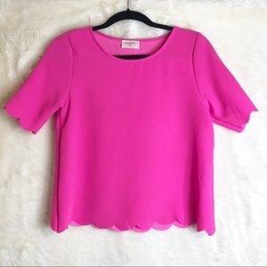 Everly Scalopped Blouse